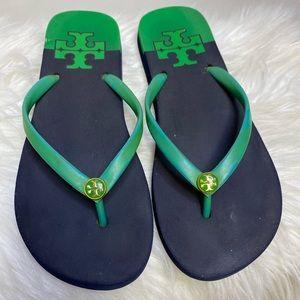 Tory Burch rubber flip flops